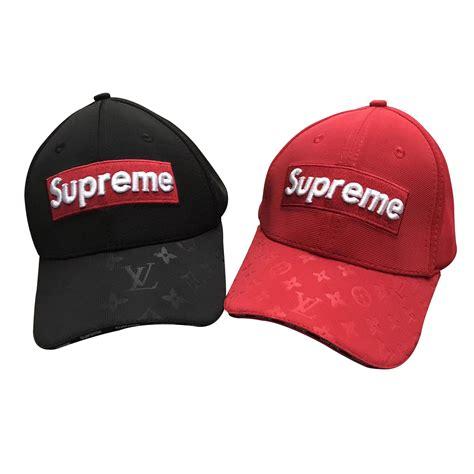 supreme cap supreme x louis vuitton box logo cap 2 color supcly112502