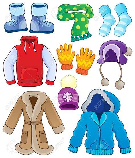 Capped clipart winter season clothes - Pencil and in color capped clipart winter season clothes