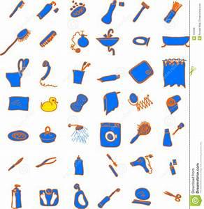 Objet Salle De Bain : objets de salle de bains photos libres de droits image 152568 ~ Melissatoandfro.com Idées de Décoration