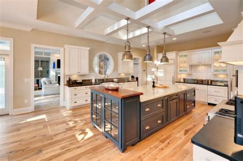 wood flooring island 10 industrial kitchen island lighting ideas for an eye catching yet cohesive d 233 cor