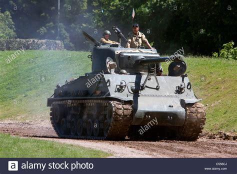 Tankfest 2011 Bovington Dorset Uk Sherman M4 A8 E8 Medium