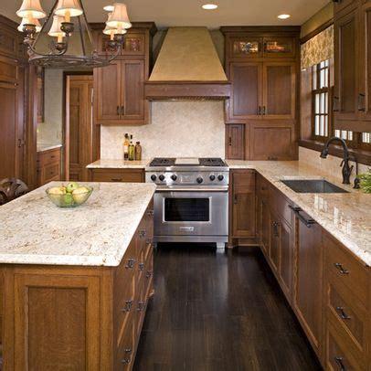 Oak Cabinets Dark Floor Design Ideas, Pictures, Remodel