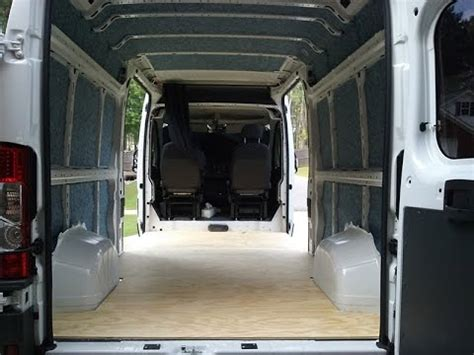best type of flooring for rv ram promaster conversion insulation type and walkaround