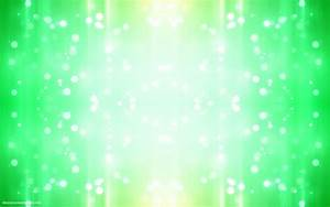 Green abstract background with bright lights | HD Abstract ...