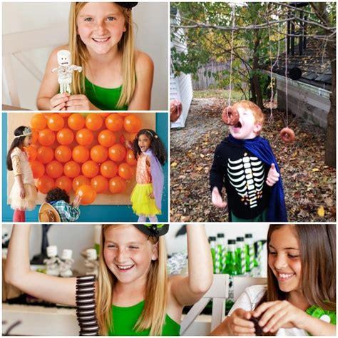 halloween party spiele fuer ein kinderfest voller suessigkeiten