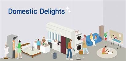 Domestic Cleaning Practice Range Samsung Close Delights