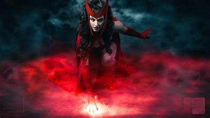 Witch Scarlet 4k Superhero Movies Wallpapers Hollywood