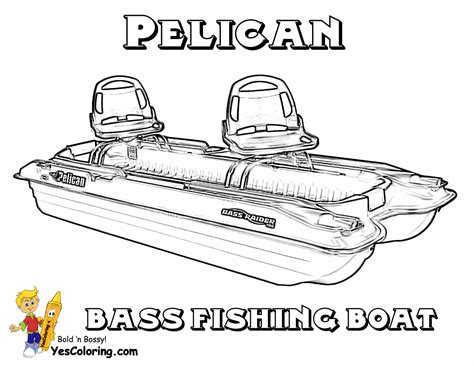 Weighing Boat Drawing by Bass Fishing Boat Drawings
