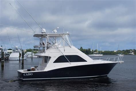 Cabo Boats by 2010 40 Cabo Yachts Convertible The Hull