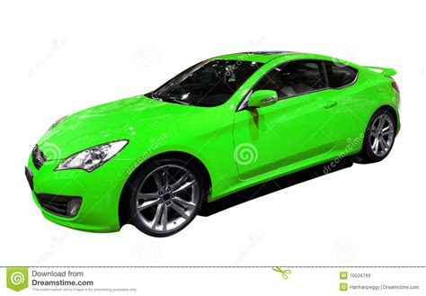 Green Car by Green Car Royalty Free Stock Images Image 10526769