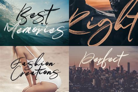 You can maximize all of its appeal into your designs. Right Brush & SVG Fonts + FREE Lettering on Behance