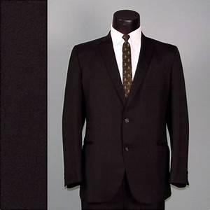 Vintage mens black suit