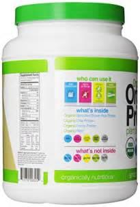 Organic Plant-Based Protein Powder Vanilla