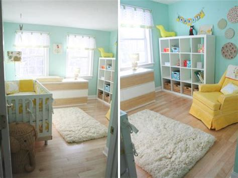 chambre bleu et jaune chambre d enfant jaune et bleu nursery nursery decor