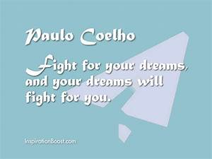 Paulo Coelho Quotes About Dreams. QuotesGram