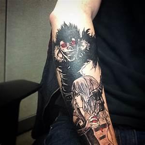 Ryuk-Misa Misa tattoo. : deathnote