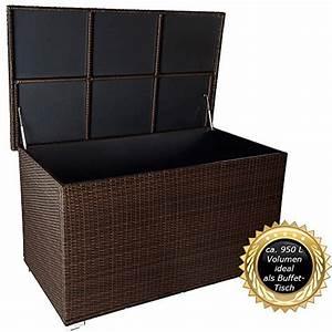 Kissenbox Wasserdicht Rattan : rattan truhe outdoor indoor ~ Markanthonyermac.com Haus und Dekorationen