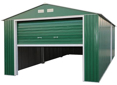 Lifetime 15x8 Shed Manual by Duramax 12x20 Metal Storage Shed Garage Building Green
