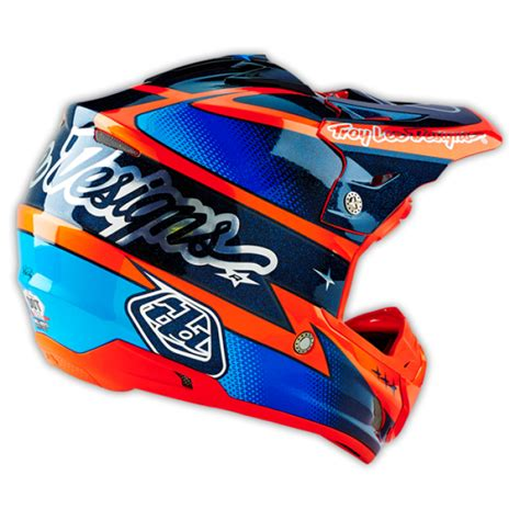 motocross helmet design troy lee designs motocross helmet 2016 se3 team orange