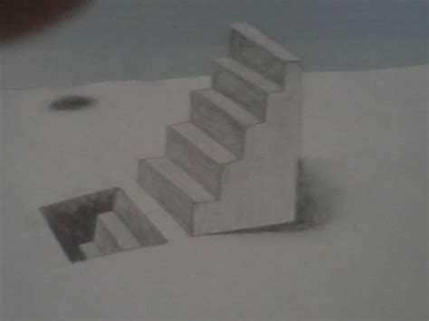 dessiner un escalier en 3d