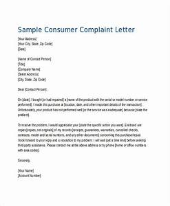 how to start a formal complaint letter