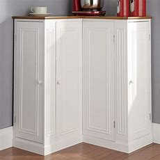 Corner Storage Cabinet  Country Door
