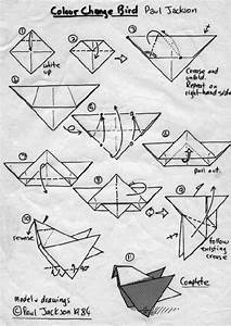 Origami Bird Instructions