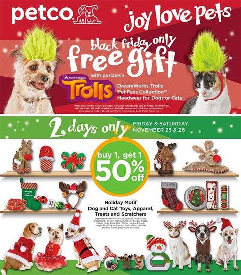 petco black friday ad scan   ftm