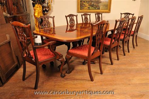 vintage walnut dining room set antique dining tables and chairs a guide 8847
