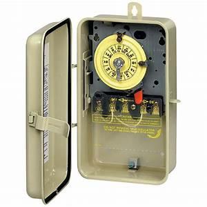 Intermatic Mechanical Timer In Metal Enclosure 208