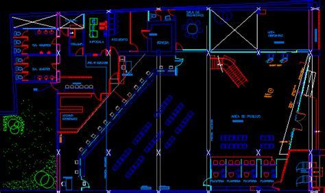 bank floorplan design en autocad descargar cad gratis