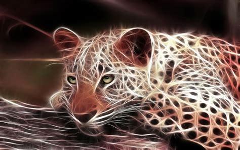 bilder ein  leopard aus licht hd hintergrundbilder