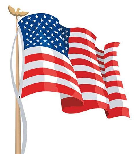 American Flag Clipart #4743 | American flag clip art ...