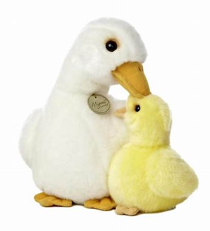 Duck Plush Duckling Mama Hearthsong Stuffed Ducklings