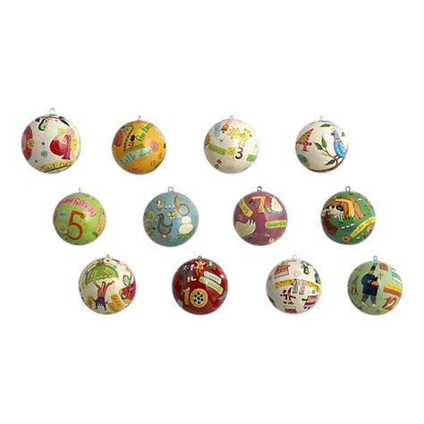12 days of christmas ornaments christmas ideas pinterest