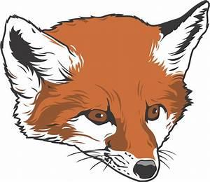 Cartoon Fox Face - Cliparts.co