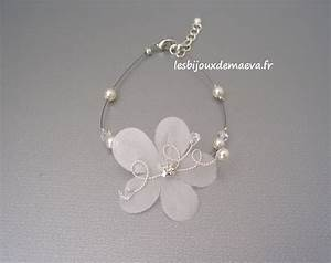 bracelet fantaisie mariage fleur perles et strass flamboyante With bracelet strass mariage