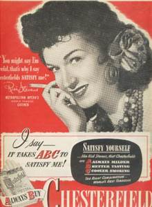 Vintage Tobacco   Cigarette Ads Of The 1940s  Page 15
