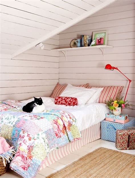 Decordots Sloped Ceiling Bedroom