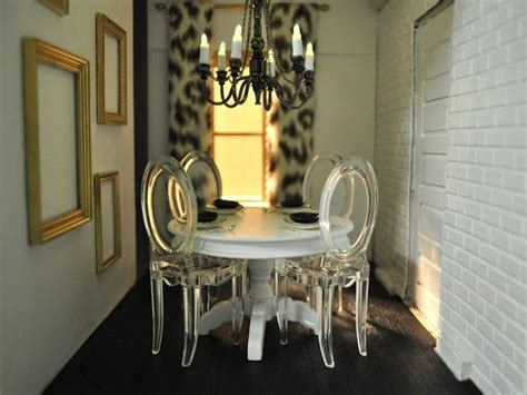 ghost chairs dining room decor