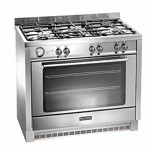 Baumatic Bcg905ss  90 Cm Gas With Lpg Option Range Cooker With Single Oven And 4 Burner   1 Wok Hob