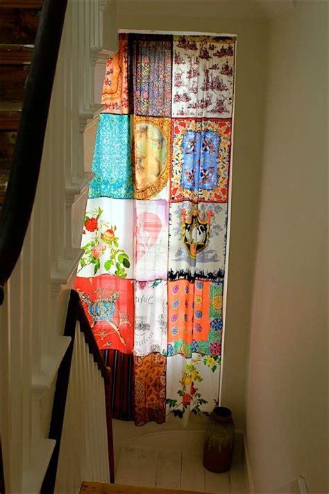 patchwork curtain it