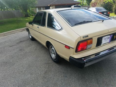 Datsun 210 Hatchback by 1982 Datsun Nissan 210 Hatchback Automatic 39k Original