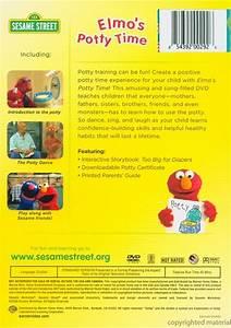 Potty Elmo Sesame Street Elmo 39 S Potty Time Repackage Dvd 2006