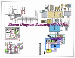 Samsung N7100 Diagram