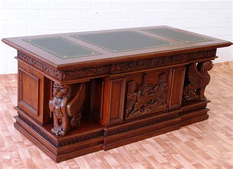 bureau napoleon bureau style empire en acajou massif alcester meuble de