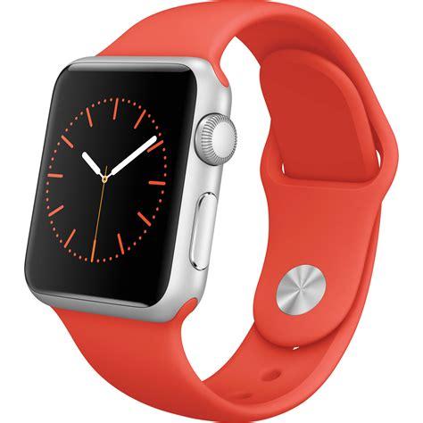 apple alumunium 38mm apple sport 38mm smartwatch mlcf2ll a b h photo