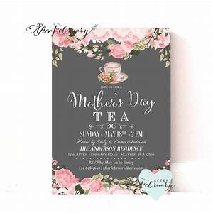 Mother's Day Invitation // Mother's Day Tea Party ...