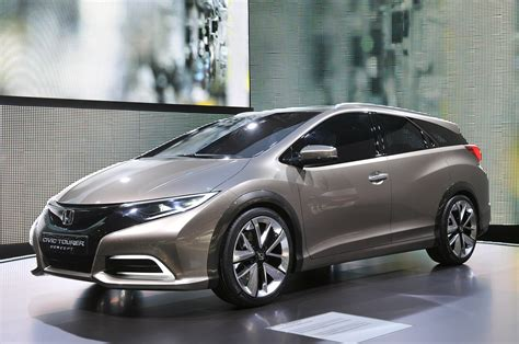 future honda civic honda civic tourer concept shows the shape of european