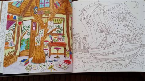 romantic country  tale coloring book youtube